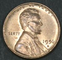 1956-D LINCOLN CENT PENNY BU   B16872