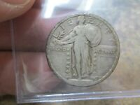 US 1924  STANDING LIBERTY QUARTER IN  FINE CONDITION