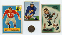 1870 TWO CENT U.S. COIN   3 OLD FOOTBALL CARDS NOMELLINI  GR