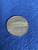 CHATTANOOGA TENNESSEE 150TH YEAR PROGRESS 1965 33 MM BRASS COIN SESQUI