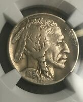 UNDER AUCTION PRICE 1919 S BUFFALO NICKEL EXTRA FINE  DETAILS CHEAP BARGAIN  NGC