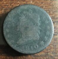 1810 CLASSIC HEAD UNITED STATES LARGE CENT FREE S/H