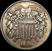 1865 TWO CENT PIECE 20CP      NICE TYPE COIN      B656