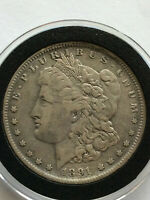 1891-O MORGAN VAM 13 DOUBLED EAR INSIDE/OUTSIDE R4   VARIETY COIN