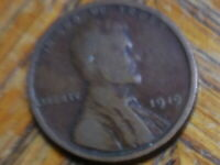 1919-P LINCOLN WHEAT CENT SELLER'S  337