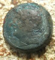 ROMAN REPUBLIC COINAGE   ANONYMOUS   AE UNCIA 217 215 BC 24.5 MM 13.87 G