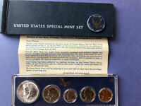 1965 SPECIAL MINT SET SMS IN GENUINE US MINT SET HOLDER BOX