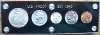 1940 UNITED STATES COIN SET IN CAPITOL PLASTIC HOLDER