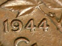 1944 CENT DOUBLE 44; NOT LISTED IN ZOELL CATALOGUES
