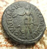 VF  FOR TYPE  THRACE ANCHIALUS. GORDIAN III WITH TRANQUILLIN