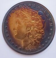1895-S MORGAN SILVER DOLLAR,  DATE / AFFORDABLE . 199