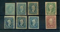 SIX CONFEDERATE STAMPS THAT PROBABLY &/OR MIGHT BE GENUINE A