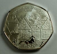 BRAND NEW THE GREAT FIRE OF LONDON 1666 SILVER COMMEMORATIVE