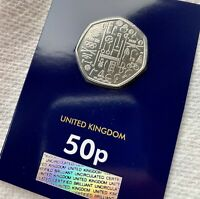 2020 TEAM GB 50P COIN CERTIFIED BRILLIANT UNCIRCULTED BUNC T