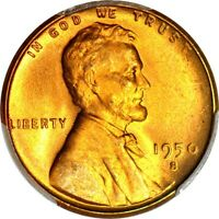 1950-S 1C LINCOLN CENT PCGS MINT STATE 65RD