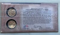 2009 WILLIAM HENRY HARRISON PRESIDENTIAL DOLLAR FIRST DAY COIN COVER BOTH MINTS