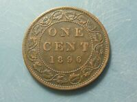 1896 CANADA LARGE CENT SHARP DETAILS REALLY NICE NATURAL COLOUR