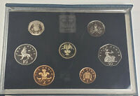 1985 GREAT BRITAIN UK PROOF SET OF 7 COINS