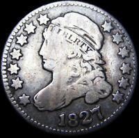 1827 CAPPED BUST DIME TYPE COIN  ---    --- D511