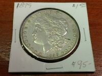 1899 MORGAN SILVER DOLLAR  COIN BETTER DATE POSSIBLE OLD TIME CLEANING
