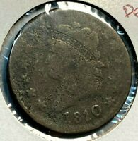 1810/09 CLASSIC HEAD LARGE CENT VG/F DETAILS 50 OF VG GREYSHEET CHN