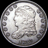 1830 CAPPED BUST HALF DIME TYPE COIN ---- STUNNING ---- D760