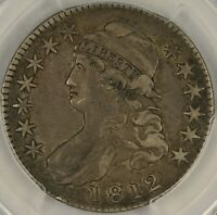 1812 CAPPED BUST HALF DOLLAR. PCGS EXTRA FINE  40 CAC. ET2427/ULH