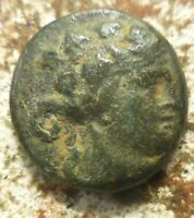 BEAUTIFUL VF THRACE. MARONEI 189/8 49/5 BC. DIONYSOS  MAPNITN 8.37 G 19 MM