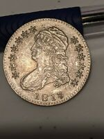 1817 50C CAPPED BUST HALF DOLLAR BETTER  DATE.  201 YRS OLD