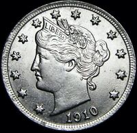 1910 LIBERTY V NICKEL  ---- GEM BU STUNNING   ---- D891