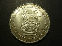 GREAT BRITAIN 1927 SHILLING ALMOST UNCIRCULATED KM829