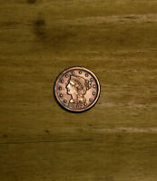 VERY HIGH GRADE 1847 UNITED STATES LARGE CENT INCREDIBLE COI