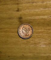 AMAZING 1853 UNITED STATES LARGE CENT IN INCREDIBLE CONDITIO