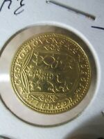1936 CZECKOSLOVAKIA 1 DUCAT GOLD COIN IN UNCIRCULATED CONDITION