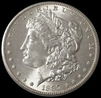 1889 S MORGAN SILVER DOLLAR $1 COIN CHOICE AU CONDITION