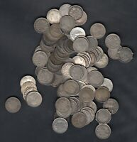 1900 1920 CANADA 5 CENTS SILVER COINS LOT OF 101