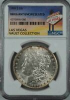 1889 S MORGAN SILVER DOLLAR  NGC BU  LAS VEGAS VAULT COLLECTION HOARD