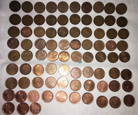 CANADIAN PENNY SET 1930 2012  83 COINS