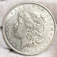 1896 O MORGAN SILVER DOLLAR UNCIRCULATED COIN 92