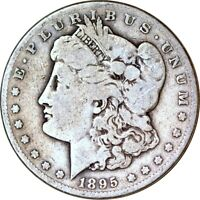 1895-S $1 MORGAN SILVER DOLLAR VG  K11274