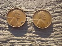 1947 D  1952 D  LINCOLN WHEAT CENTS CIRCULATED - 2 COIN LOT