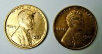 1925 & 1926 RED BROWN BU LINCOLN CENT, SHIPS FREE