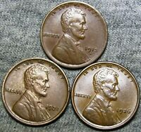 1913-D 1921 1926 LINCOLN CENT PENNY  ----   LOT  ----  J106