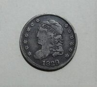 1829 CAPPED BUST HALF DIME DIME - VF