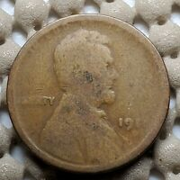 1911 D LINCOLN WHEAT CENT  BETTER DATE COIN COPPER COIN 1