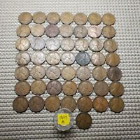 1924 S LINCOLN WHEAT CENT FULL ROLL BETTER DATE 50 COINS IN ROLL