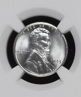 1943-S 1C LINCOLN WHEAT ONE CENT  NGC MINT STATE 68                5863468-002