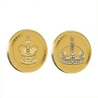 AUSTRALIA 2013 CELEBRATING THE QUEENS' CORONATIONS 2X $1 DOLLAR UNC COINS CARDED