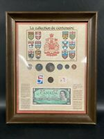 1967 CANADA SILVER COIN CENTENNIAL FRAMED COLLECTION