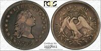 1795 FLOWING HAIR $1 DOLLAR  2 LEAVES VARIETY PCGS VF30, PERFECT FOR TYPE